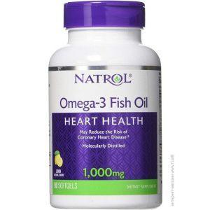 Рыбий жир Омега-3, Omega-3 1000mg 30%, Natrol, 1000 мг, 90 капсул