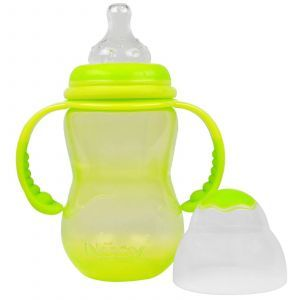 Бутылочка с широким горлышком,   Non-Drip Wide, Nuby, 300 мл