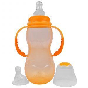 Бутылочка с широким горлышком, Non-Drip Wide Neck, Nuby, 300 мл