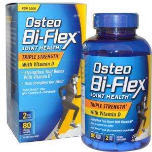 Остео би-флекс, Osteo Bi-Flex, 80 таблеток