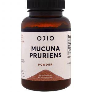 Порошок мукуны жгучей, Mucuna Pruriens Powder, Ojio, 100 г