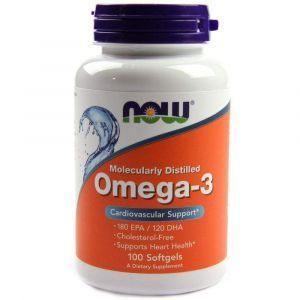 Омега-3, Omega-3, Now Foods, 100 гелевых капсул (Default)
