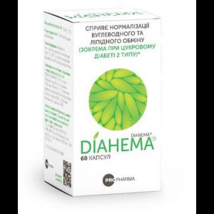 Дианема, Dianema, Pro-Pharma, 60 желатиновых капсул