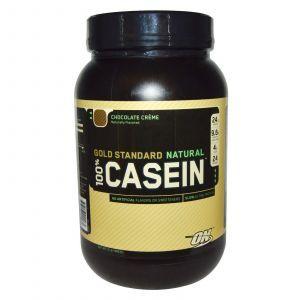 Козеиный протеин (Casein), Optimum Nutrition, 909 грамм