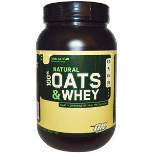 Сывороточный протеин, овес (ваниль), Optimum Nutrition, 1.363