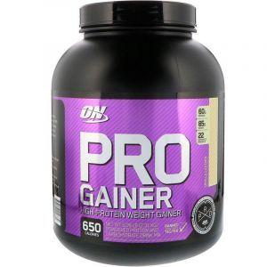 Протеиновая смесь, PRO GAINER, Optimum Nutrition, ванильный крем, 2.31 кг