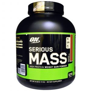 Гейнер (Serious Mass, Protein Gain),Optimum Nutrition, 2.72кг