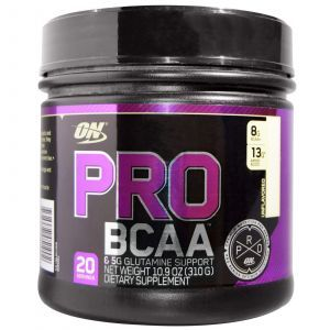 BCAA и глютамин, Optimum Nutrition, 310 г