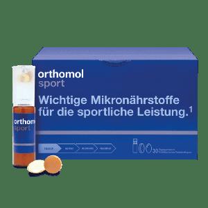 Витамины для спорта, Orthomol Sport, 30 таблеток + 30 бутылочек