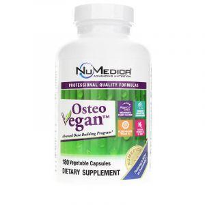 Формула для костей, Osteo Vegan Rx, NuMedica, 180 вегетарианских капсул