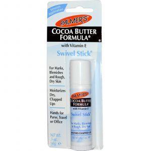 Выдвижной стик с маслом какао, Swivel Stick, Palmer's, 14 г