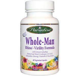 Формула энергии для мужчин, Vitality Formula, Paradise Herbs, 60 кап.