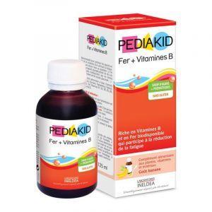 Залізо і вітамін В, сироп для дітей, (Iron + Vitamin B), Pediakid, 125 мл