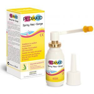 Спрей горло-ніс для дітей, (Spray Nose - Throat), Pediakid, 20 мл