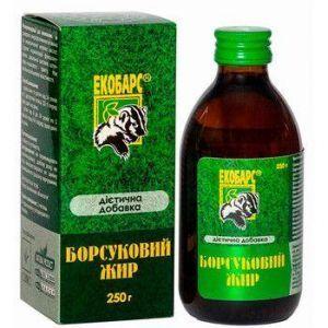 Барсучий жир, Екобарс, 250 г