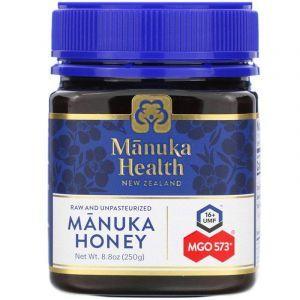 Манука мед, Manuka Health, MGO 550+, 250