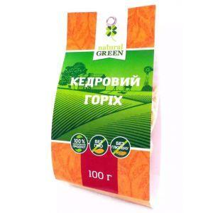 Кедровый орех, NATURAL GREEN, 100 г