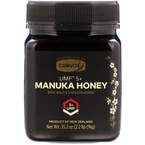 Манука мед, Manuka Honey, Comvita, UMF 5+, 1 кг