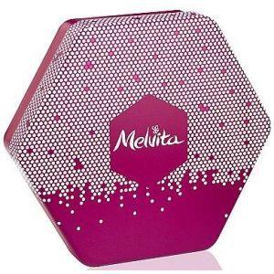 Коробка подарочная, Melvita, розовая, металлическая, 1 шт