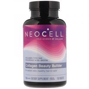 Коллаген, создатель красоты, Collagen, Neocell, 150 таблеток