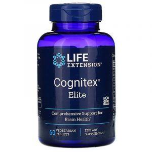 Улучшение работы мозга, Cognitex Elite, Life Extension, 60 таб.