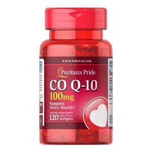 Коэнзим Q-10, Q-SORB Co Q-10, Puritan's Pride, 100 мг, 120 капсул