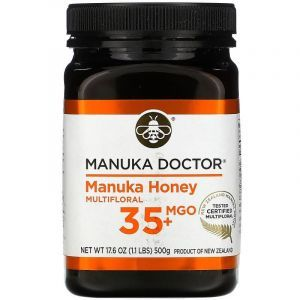 Манука мед, 10+, Manuka Doctor, (500 г)