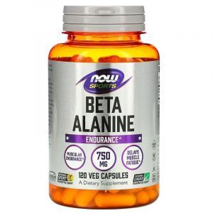 Бета-аланин, Now Foods, 120 капсул