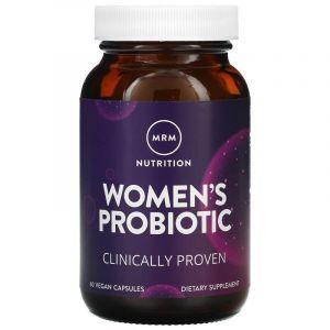Пробиотики, Probiotic, MRM, для женщин, 60 вегетарианских капсул (Default)