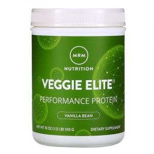 Растительный протеин, Smooth Veggie Elite Performance Protein, MRM, ваниль, 510 г