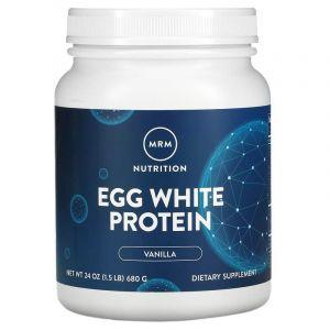 Яичный протеин, французская ваниль, Natural Egg White Protein, MRM, 680 г (Default)