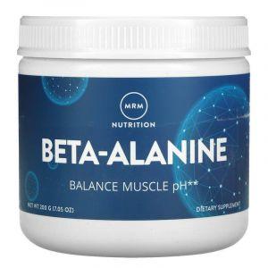 Бета-аланин, Balance Muscle pH, MRM, 200 г