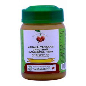 Масло Махакальянакам Гритам, Mahakalyanakam Ghrutham, Vaidyaratnam, 150 грамм