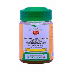 Масло Вастьямаянтхакам Гритам, Vasthyamayanthakam Ghrutham, Vaidyaratnam, 150 грамм