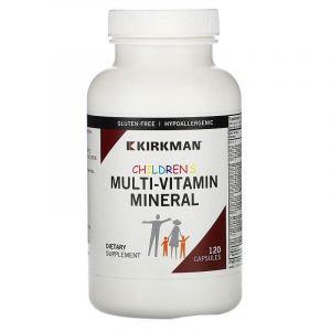 Витамины и минералы для детей, Kirkman Labs, 120 кап.