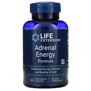 Надпочечники, энергетическая формула, Adrenal Energy, Life Extension, 60 кап. (Default)