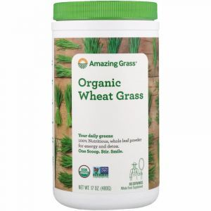 Пророщенная пшеница, Wheat Grass, Amazing Grass, 480 грамм