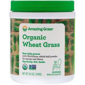 Пророщенная пшеница,  Wheat Grass, Amazing Grass, 240 грамм