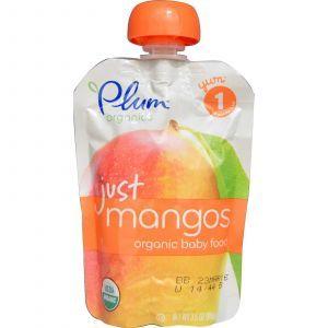 (Mango), Plum Organics, 99г
