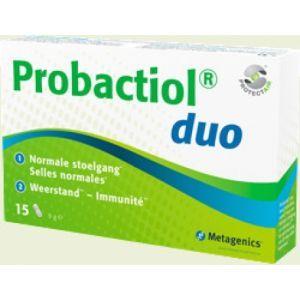 Пробиотики для здорового пищеварения, Probactiol duo, Metagenics, 15 капсул