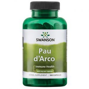 По д'арко, Pau D'Arco, Solaray, 550 мг, 100 кап.