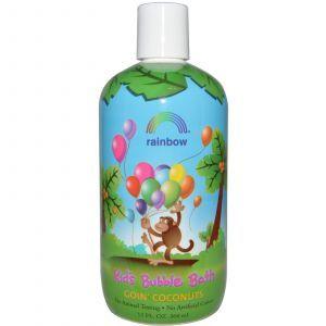 Пена для ванны, Kid's Bubble Bath, Rainbow Research, кокос, 360 мл