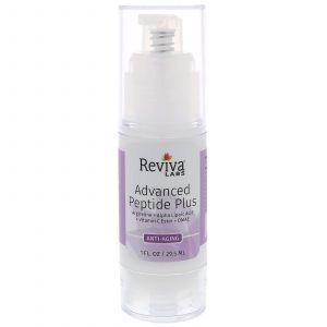 Пептидный комплекс для кожи лица, Advanced Peptide Plus, Reviva Labs, 29,5 мл