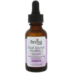 Сыворотка с витамином С антивовозрастная, Vitamin C Serum, Anti Aging, Reviva Labs, 29,5 мл