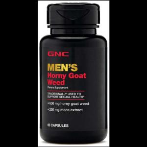Горянка, сексуальное здоровье, Horny Goat Weed, GNC, для мужчин, 60 капсул