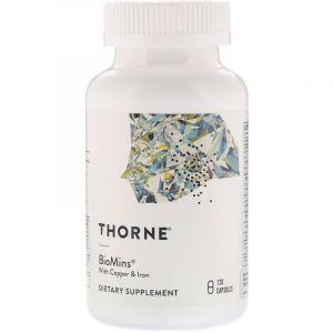 Мультиминералы формула, Biomins, Thorne Research, 120 капсул