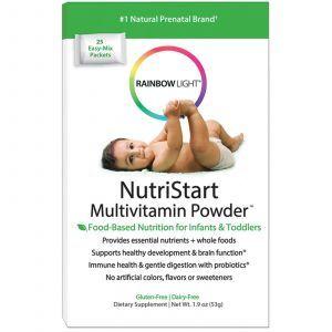 Мультивитаминный порошок для детей (пищеварение, иммунитет) NutriStart, Rainbow Light, 53 гр
