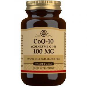 Коэнзим Q10, дополненный, CoQ-10 Megasorb, Solgar, 100 мг, 30 капсул (Default)
