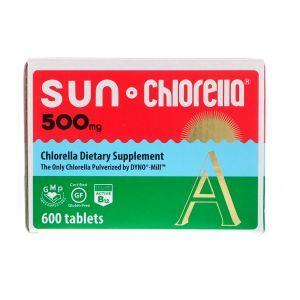 Хлорелла, Sun Chlorella A, Sun Chlorella,500 мг, 600 таб.
