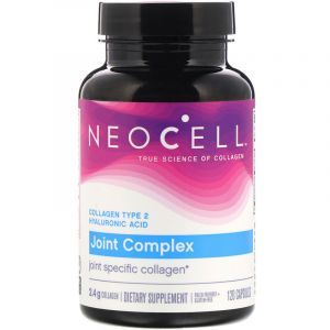 Коллаген тип 2 плюс НА, Neocell, 120 капсул